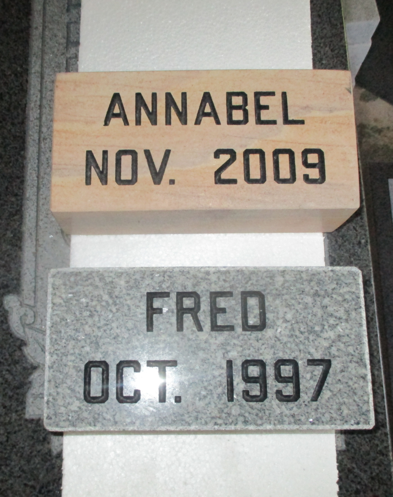 Annabel and Fred
